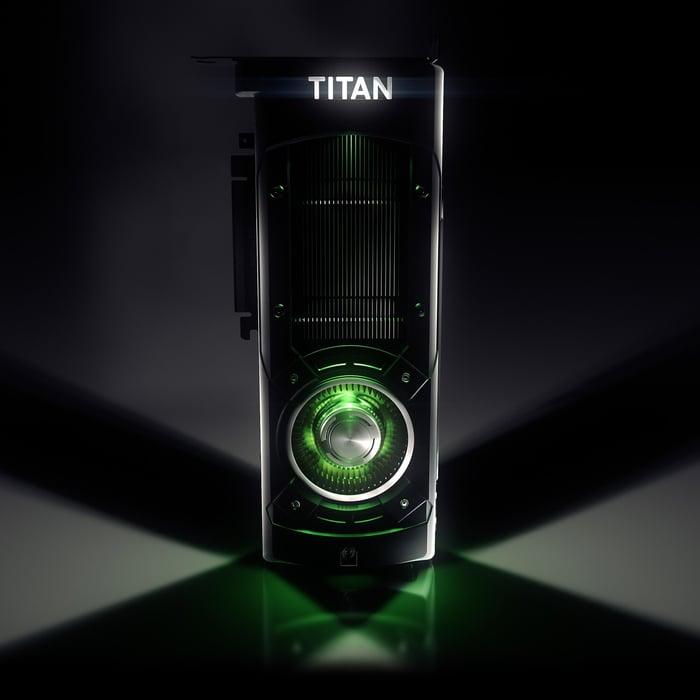 NVIDIA GeForce TITAN X GPU.