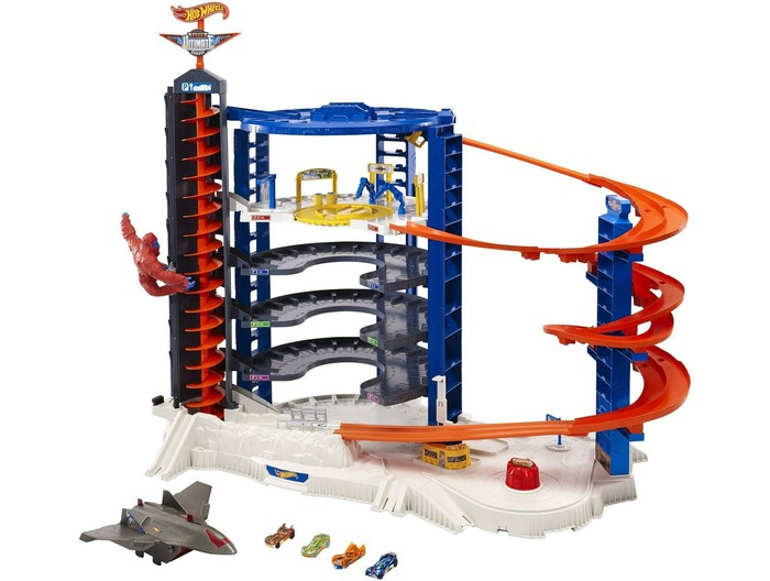 A Mattel Hot Wheels set.