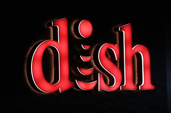 DISH Network logo.
