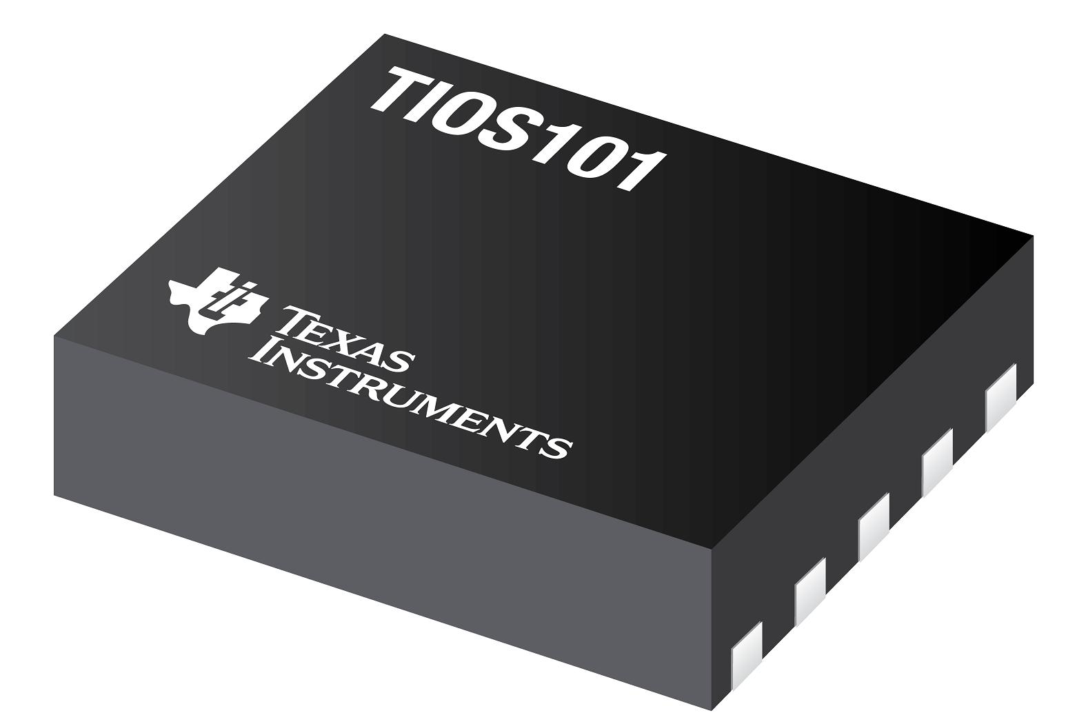Texas Instruments TIOS101 chip.