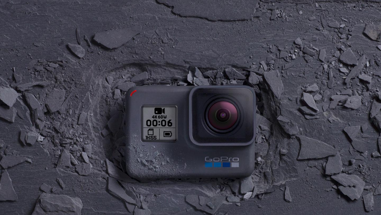 GoPro's Hero 6 Black.