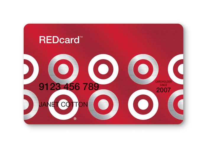 A Target REDcard.