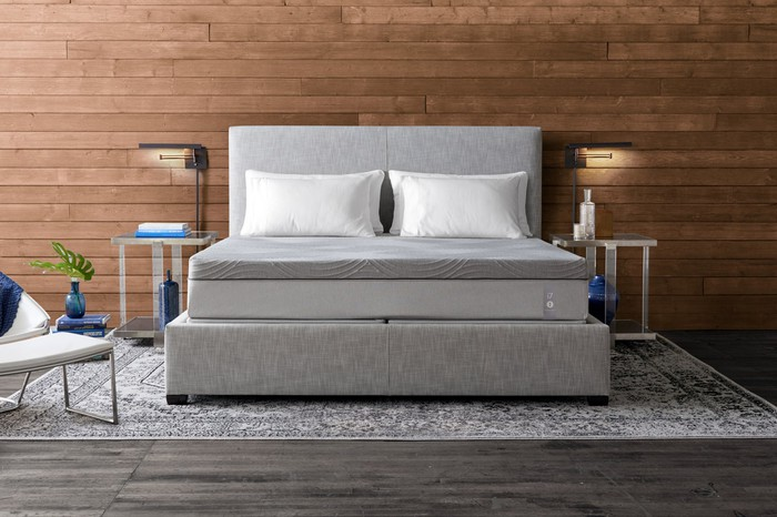 A Sleep Number 360 smart bed.