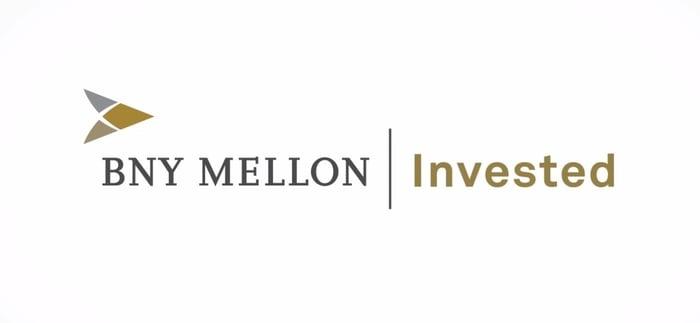 Logo for BNY Mellon.