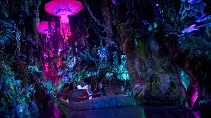 Na'vi River Journey opened in May 2017 at Disney's Animal Kingdom.
