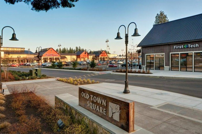 A shopping center named Old Town Square owned by Retail Opportunity Investments.