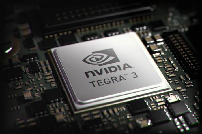 An NVIDIA Tegra 3 chip.