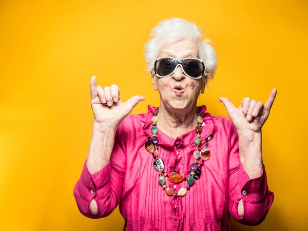 Getty Images Cool Grandma