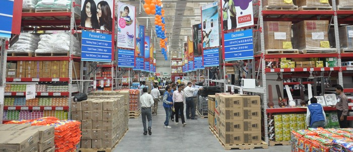 A Walmart Best Price store in India.