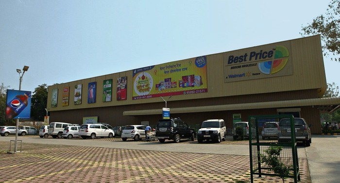 Walmart's Best Price stores in India.