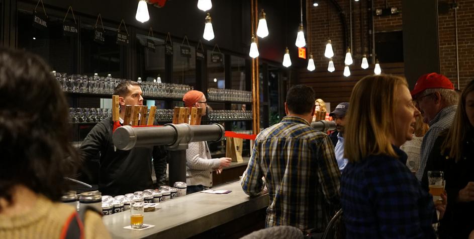 Boston Beer taproom