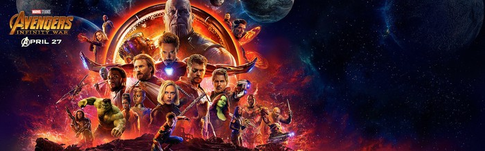 The Avengers: Infinity War poster.