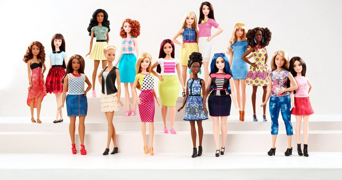Barbie Fashionistas line.
