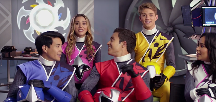 Power Rangers movie cast