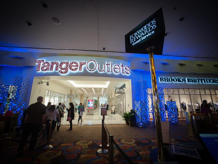 A Tanger Outlets location.