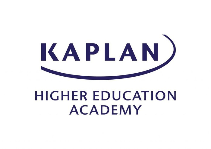 Logo for Kaplan Higher Education Academy.