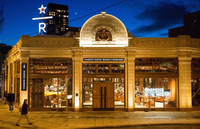 The Starbucks Roastery in Seattle