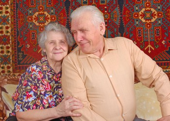 70 year old couple