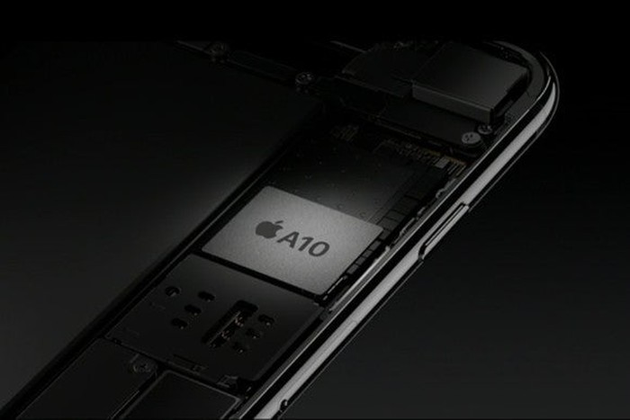 The Apple A10 chip is manufactured exclusively by TSMC.