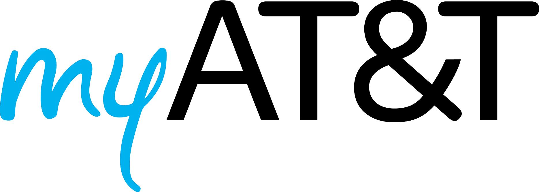 Logo of myAT&T.