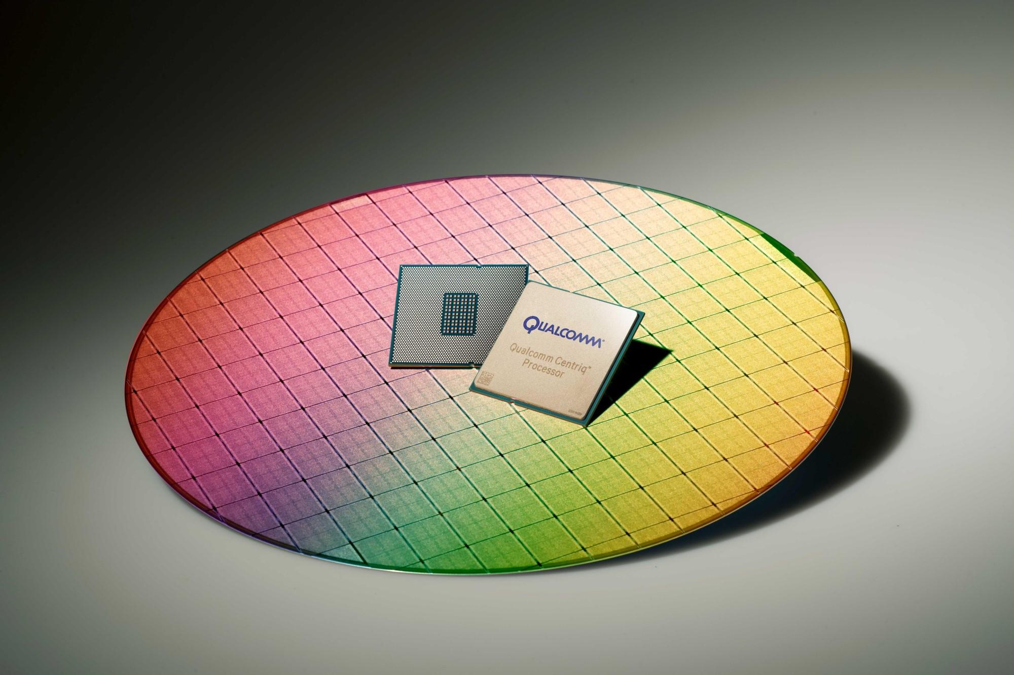 Qualcomm's Centriq 2400 chip.