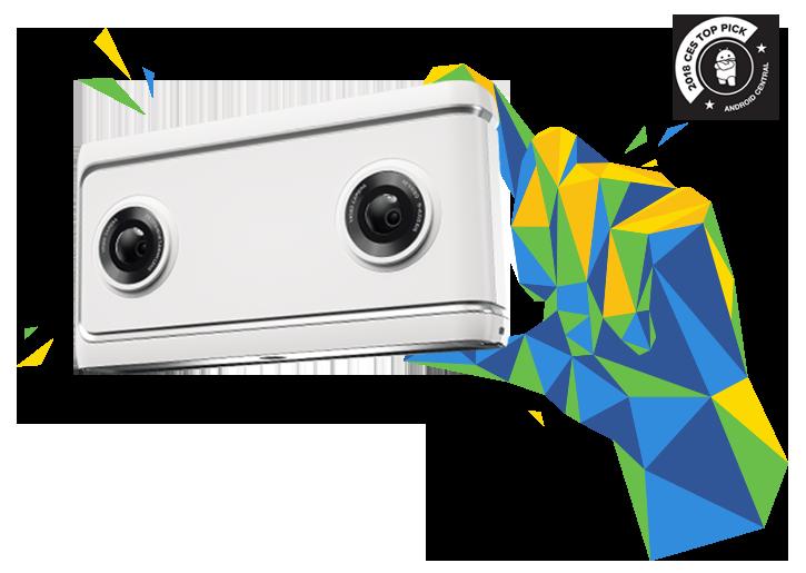 Lenovo's Mirage camera.