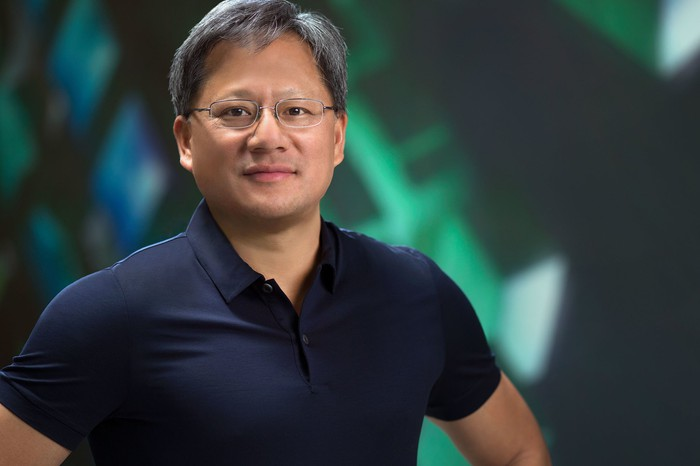 NVIDIA's founder and CEO Jen-Hsun Huang.