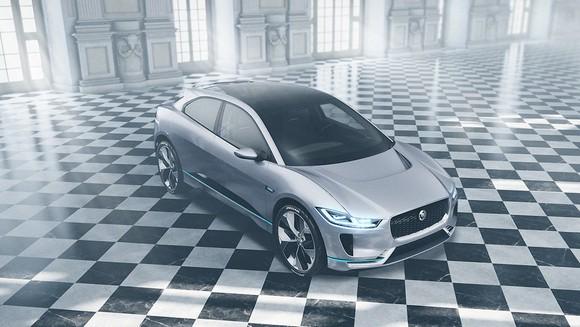 Electric Jaguar built by Magna