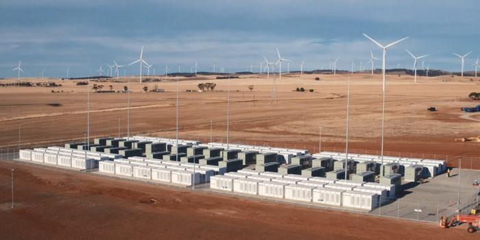 Tesla energy storage project in Australia