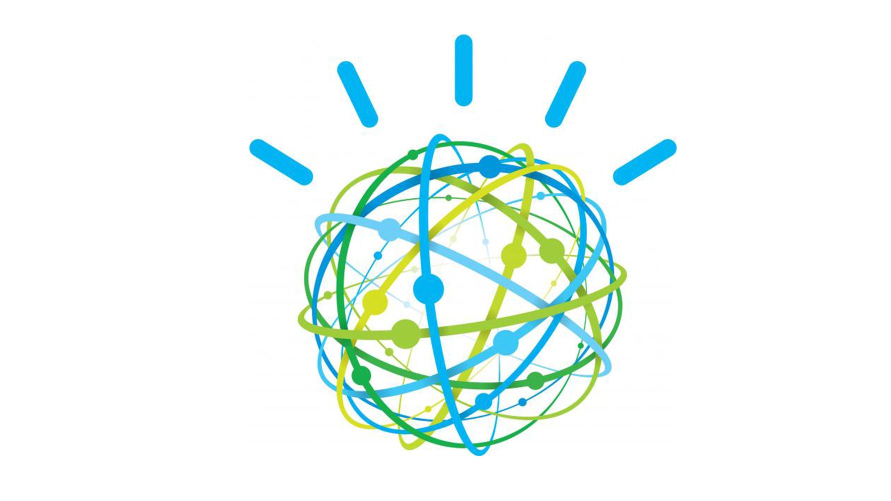 The IBM Watson logo