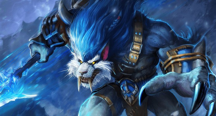 """A monster from NetEase's game """"Eternal Arena"""""""