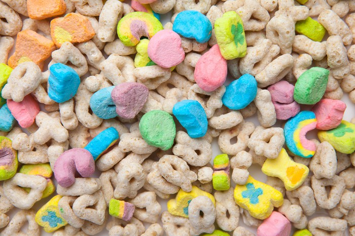 Cereal with marshmallows
