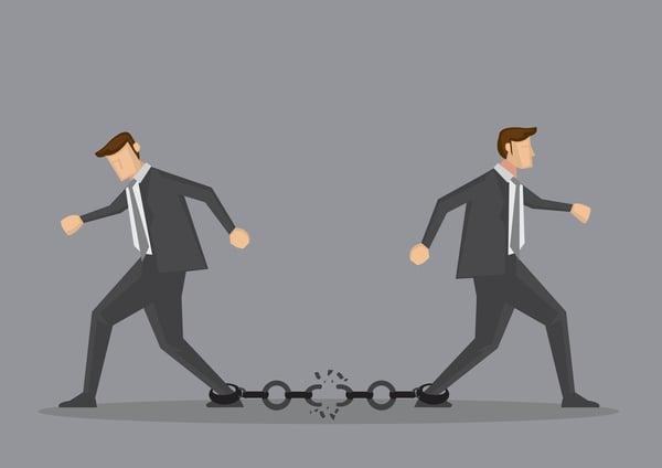Business split