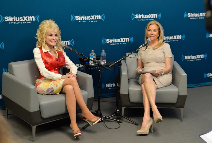 Dolly Parton in a town hall interview.