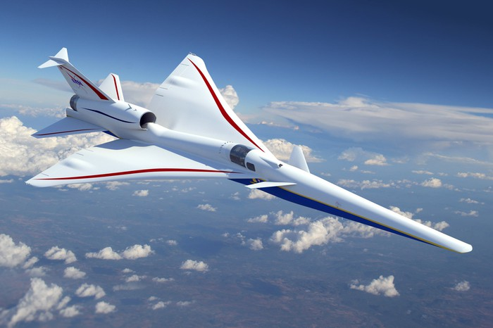 Lockheed Martin supersonic rendering