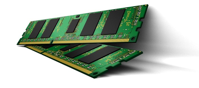 Memory chips from Micron.