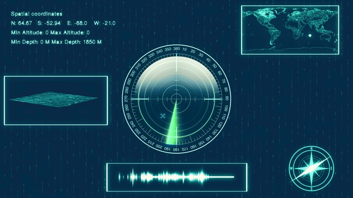 Sonar screen