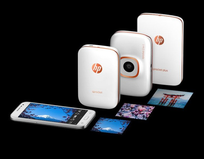 HP's Sprocket mobile printers.
