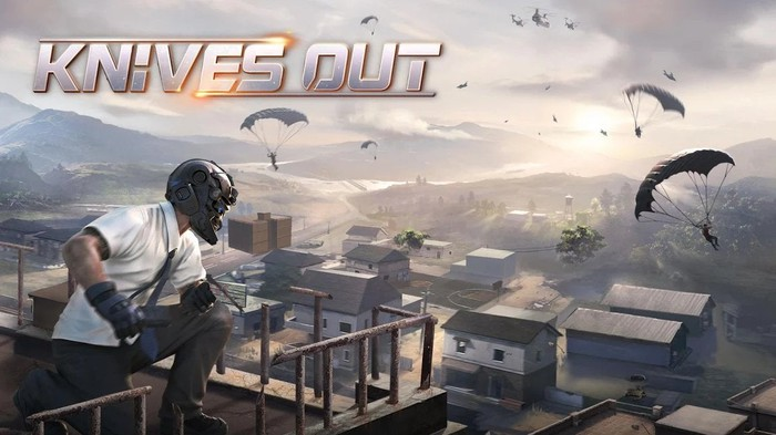 A man in a scene in NetEase's Knives Out.