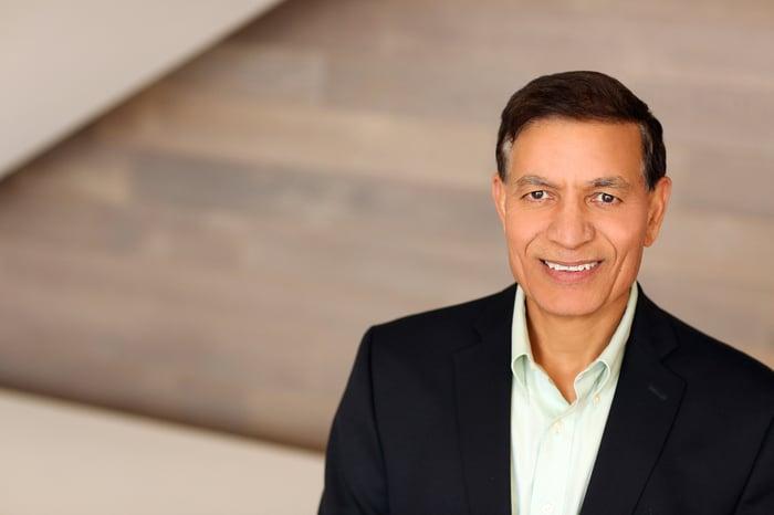 Headshot of CEO Jay Chaudhry