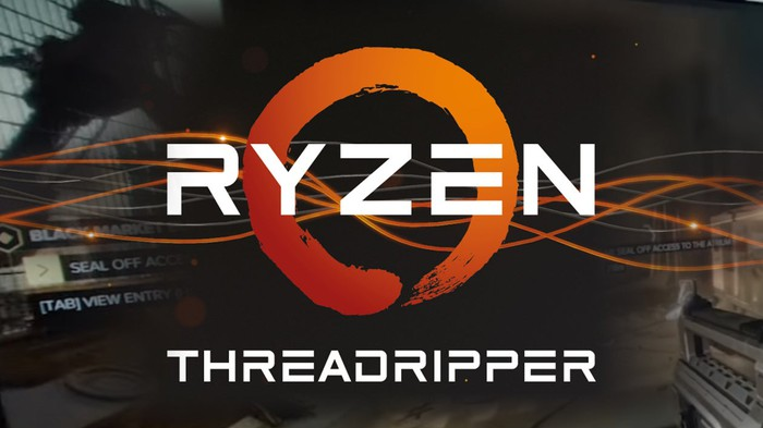 The AMD Ryzen Threadripper logo.