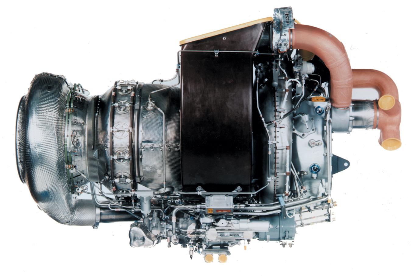 A Pratt & Whitney APU
