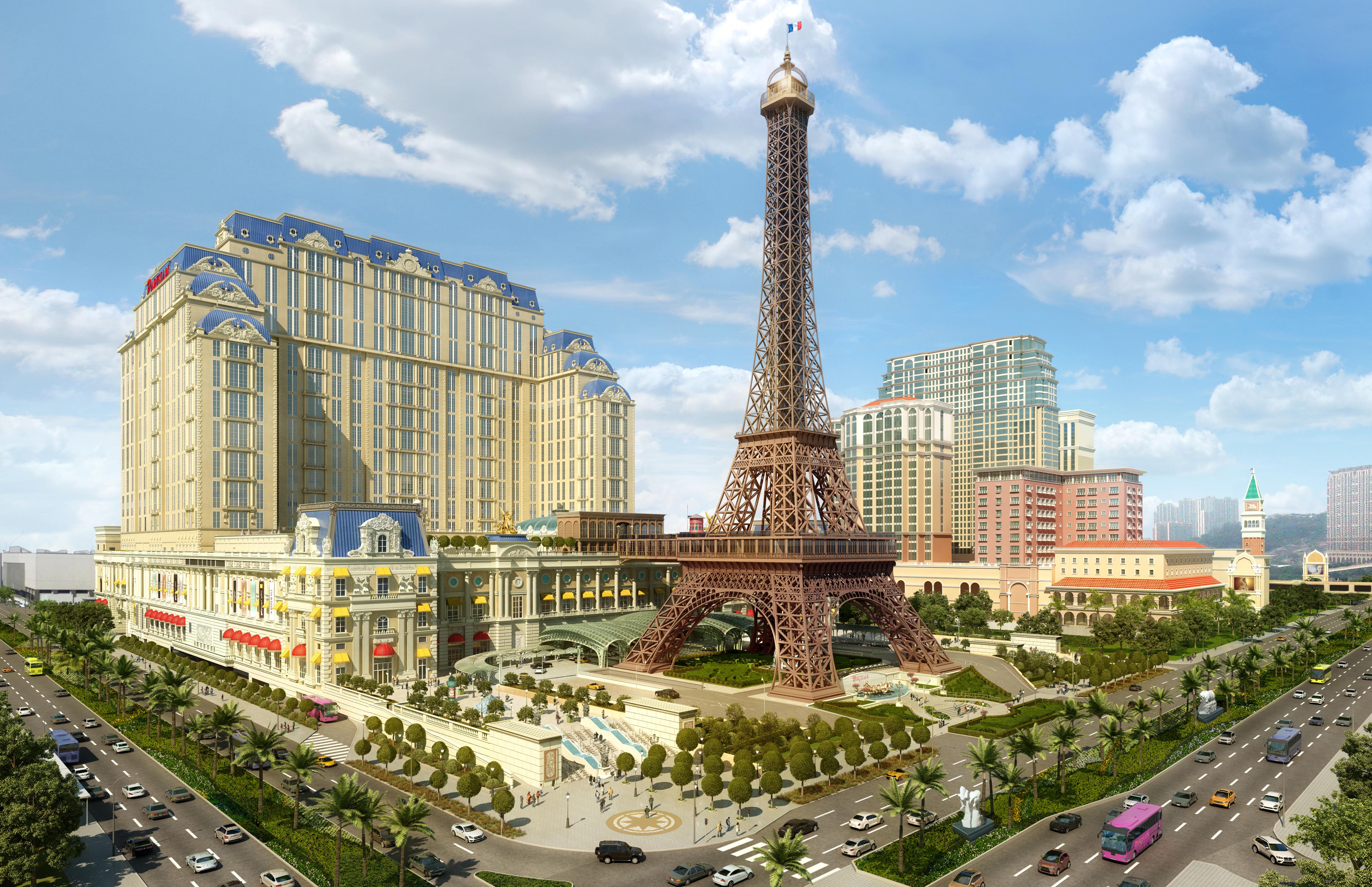 Rendering of The Parisian Macau.