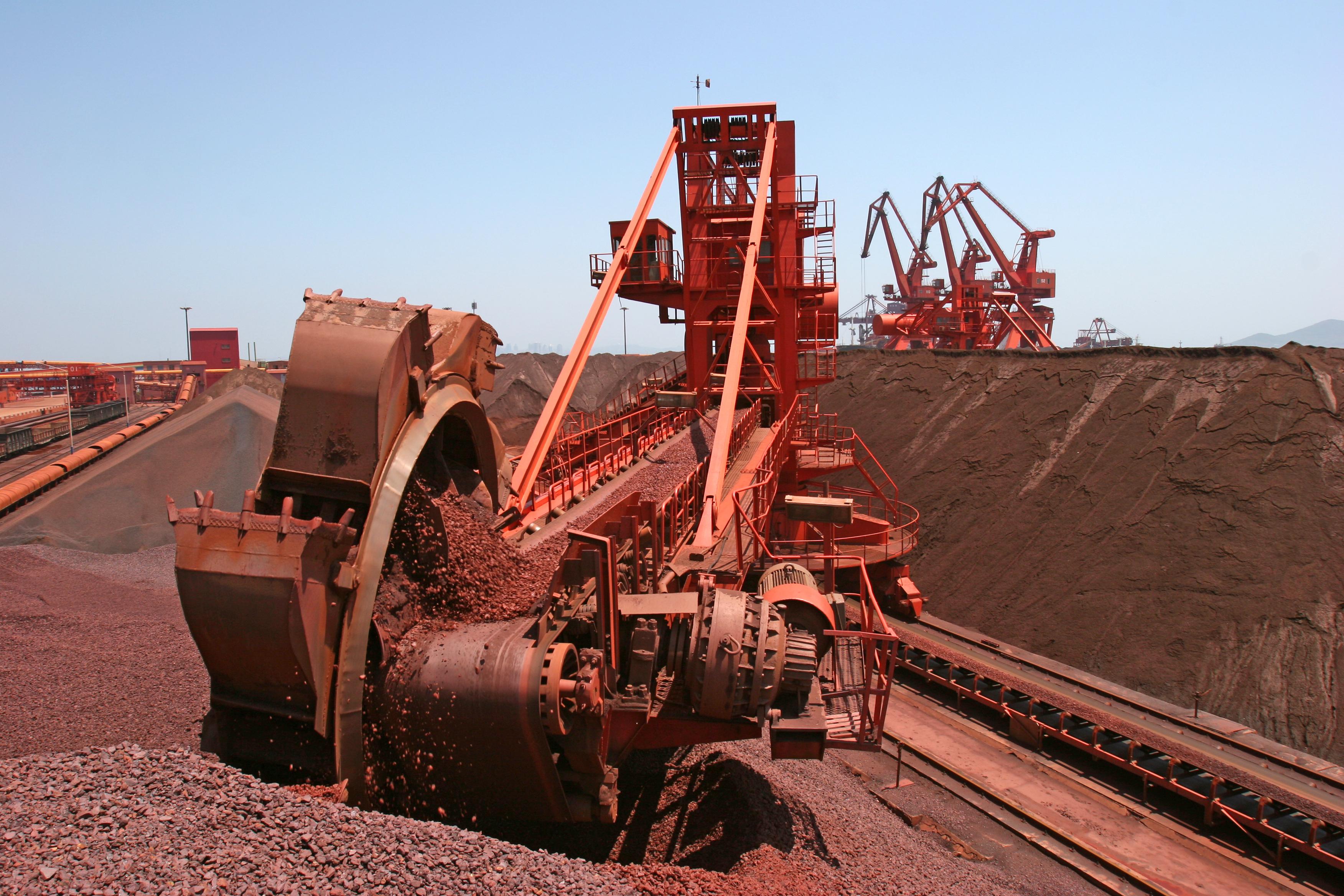 iron ore mining facility.
