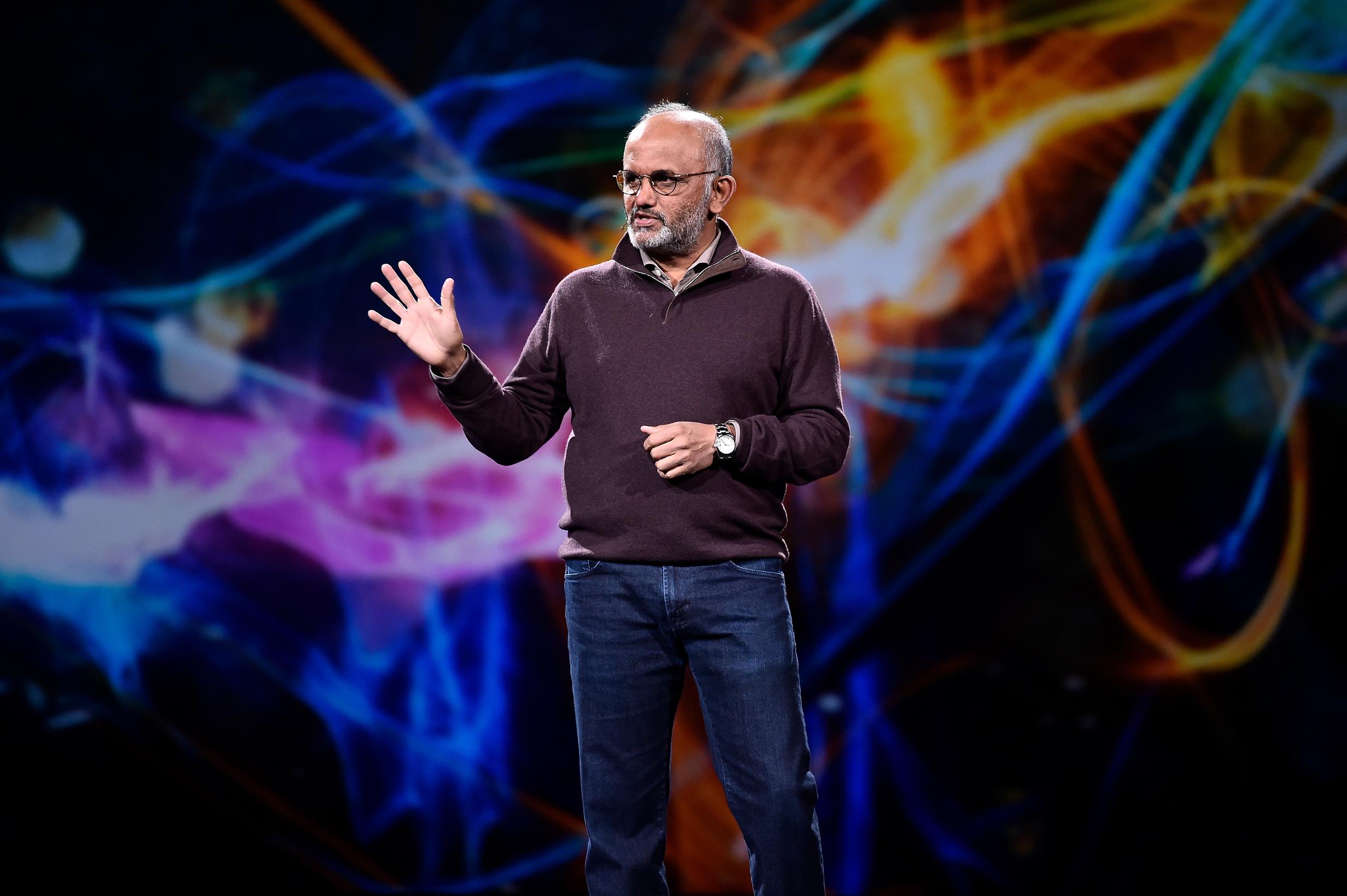 Adobe CEO Shantanu Narayen at Adobe Summit 2018.