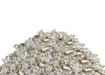 pile of money getty