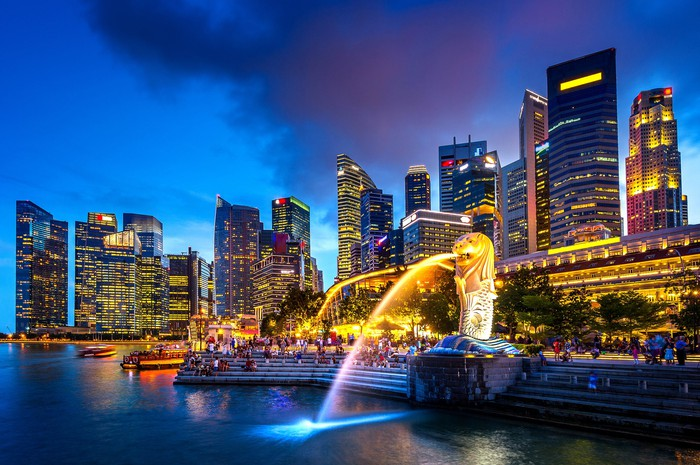 Singapore's waterfront.