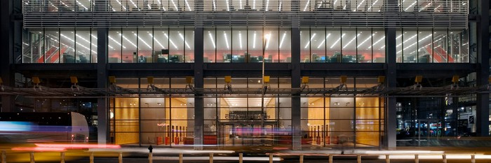 New York Times building in NYC