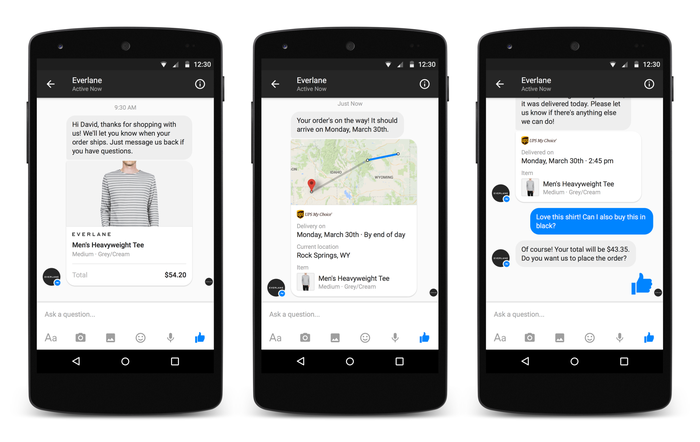 Messenger on Android