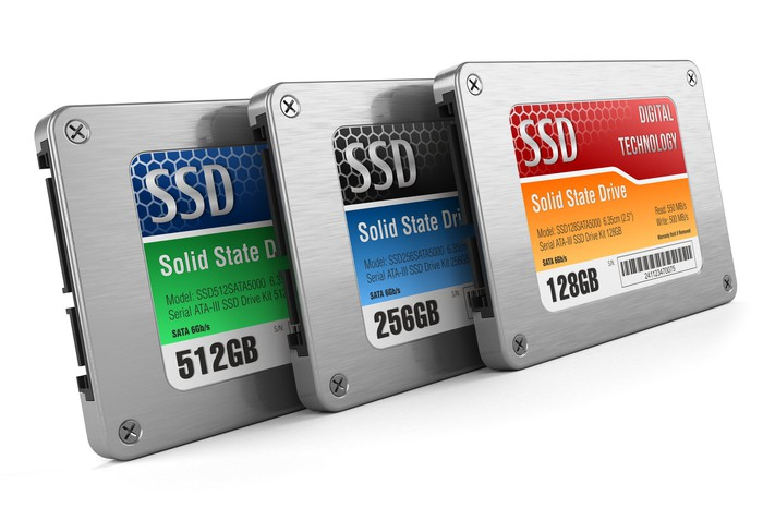SSD memory cards